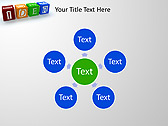 Idea Word On Tesseras Animated PowerPoint Templates - Slide 21