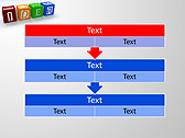 Idea Word On Tesseras Animated PowerPoint Templates - Slide 23