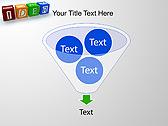 Idea Word On Tesseras Animated PowerPoint Templates - Slide 24
