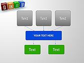 Idea Word On Tesseras Animated PowerPoint Templates - Slide 27