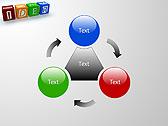 Idea Word On Tesseras Animated PowerPoint Templates - Slide 5