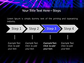 Lilac Vibration Effect Animated PowerPoint Template - Slide 3