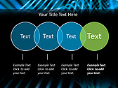 Blue Vibration Effect Animated PowerPoint Template - Slide 10