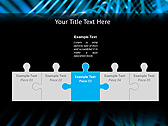 Blue Vibration Effect Animated PowerPoint Template - Slide 19