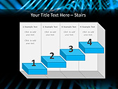 Blue Vibration Effect Animated PowerPoint Template - Slide 7