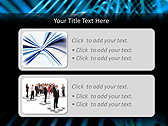 Blue Vibration Effect Animated PowerPoint Template - Slide 9