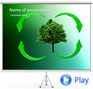 Circulation In Nature Animated PowerPoint Template