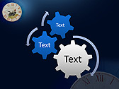 Antic Clock Animated PowerPoint Template - Slide 16