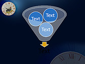 Antic Clock Animated PowerPoint Templates - Slide 24