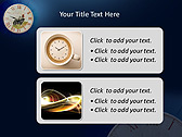 Antic Clock Animated PowerPoint Template - Slide 9