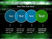Green Matrix Abstraction Animated PowerPoint Template - Slide 10