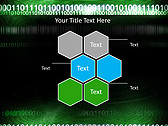 Green Matrix Abstraction Animated PowerPoint Template - Slide 12