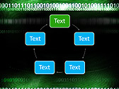 Green Matrix Abstraction Animated PowerPoint Template - Slide 13