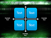 Green Matrix Abstraction Animated PowerPoint Template - Slide 15