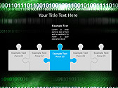 Green Matrix Abstraction Animated PowerPoint Template - Slide 19