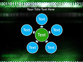 Green Matrix Abstraction Animated PowerPoint Template - Slide 21