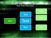 Green Matrix Abstraction Animated PowerPoint Template - Slide 22