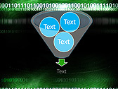 Green Matrix Abstraction Animated PowerPoint Template - Slide 24