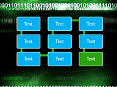 Green Matrix Abstraction Animated PowerPoint Template - Slide 26