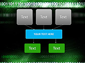 Green Matrix Abstraction Animated PowerPoint Template - Slide 27
