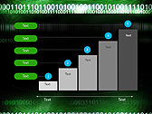 Green Matrix Abstraction Animated PowerPoint Template - Slide 33