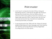 Green Matrix Abstraction Animated PowerPoint Template - Slide 35