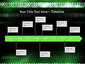 Green Matrix Abstraction Animated PowerPoint Template - Slide 6