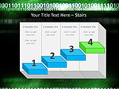 Green Matrix Abstraction Animated PowerPoint Template - Slide 7