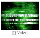 Green Matrix Abstraction Videos