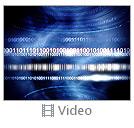 Blue Matrix Abstraction Videos