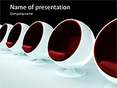 Round Shaped Armchair Animated PowerPoint Templates - Slide 1