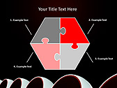 Round Shaped Armchair Animated PowerPoint Template - Slide 11