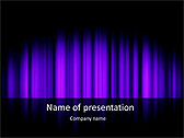 Lilac Color Vibration Animated PowerPoint Template - Slide 1