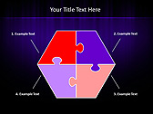 Lilac Color Vibration Animated PowerPoint Template - Slide 11