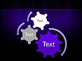 Lilac Color Vibration Animated PowerPoint Template - Slide 16