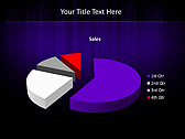 Lilac Color Vibration Animated PowerPoint Template - Slide 18