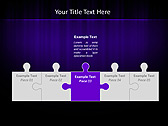 Lilac Color Vibration Animated PowerPoint Template - Slide 19
