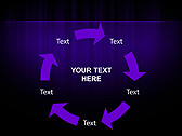 Lilac Color Vibration Animated PowerPoint Template - Slide 20