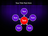Lilac Color Vibration Animated PowerPoint Template - Slide 21
