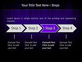 Lilac Color Vibration Animated PowerPoint Template - Slide 3