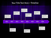 Lilac Color Vibration Animated PowerPoint Template - Slide 6