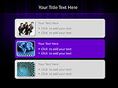 Lilac Color Vibration Animated PowerPoint Template - Slide 8