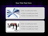 Lilac Color Vibration Animated PowerPoint Template - Slide 9