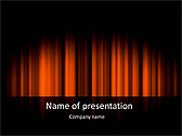 Red Color Vibration Animated PowerPoint Template - Slide 1