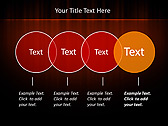 Red Color Vibration Animated PowerPoint Template - Slide 10
