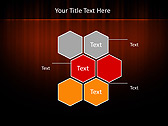 Red Color Vibration Animated PowerPoint Template - Slide 12