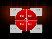 Red Color Vibration Animated PowerPoint Template - Slide 14