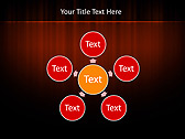 Red Color Vibration Animated PowerPoint Template - Slide 21