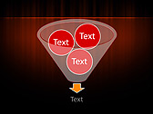 Red Color Vibration Animated PowerPoint Template - Slide 24