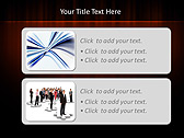 Red Color Vibration Animated PowerPoint Template - Slide 9